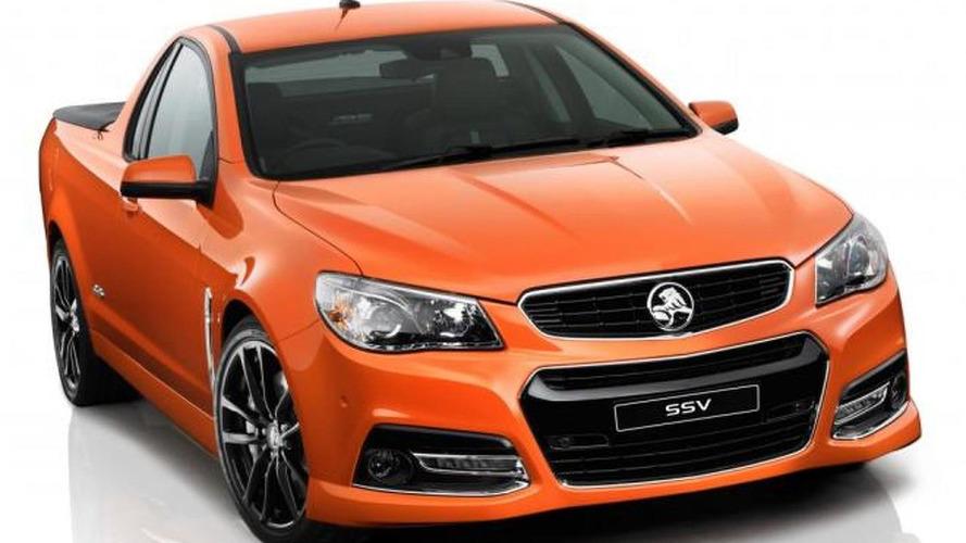 2013 Holden VF Commodore Sportwagon and Ute break cover