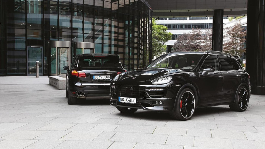 TechArt prepares Porsche Cayenne S Diesel for Geneva