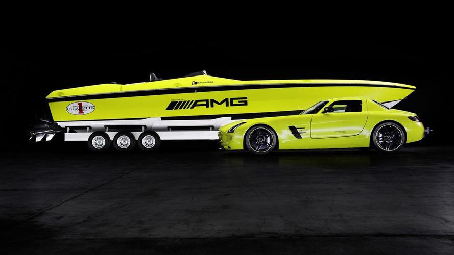 Cigarette AMG Electric Drive concept introduced in Miami