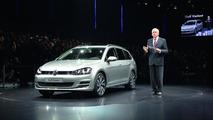2013 Volkswagen Golf Variant at 2013 Geneva Motor Show