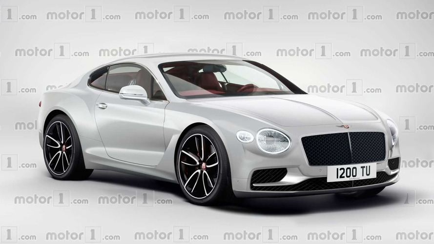 ¿Se parecerá el Bentley Continental GT 2017 a este render?