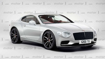 Bentley Continental GT 2017 render