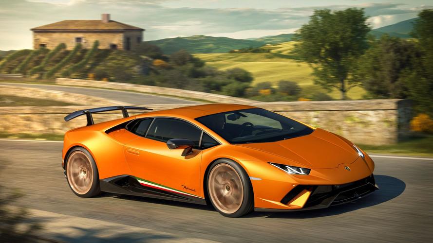 Lamborghini Huracan Performante markanın en güçlü V10'una sahip