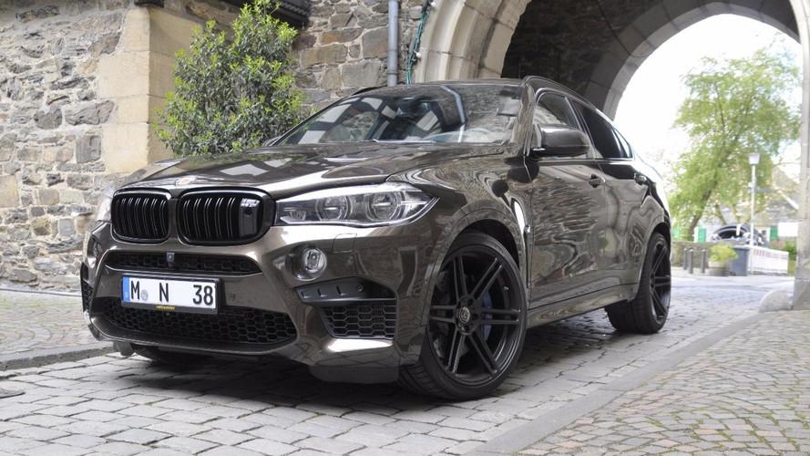 Manhart modifiyeli BMW X6 M tam 700 bg!