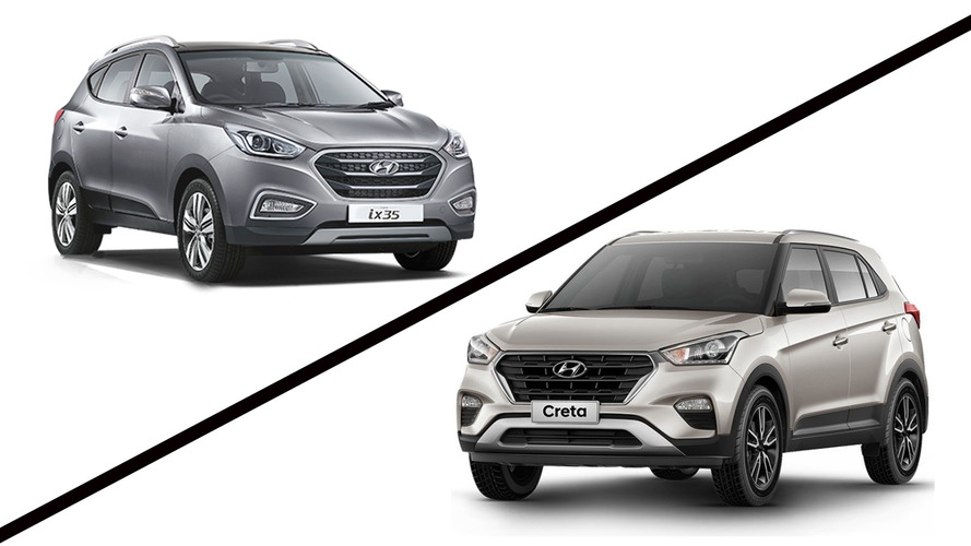 Briga em casa - Hyundai Creta 2.0 AT x ix35 2.0 Flex
