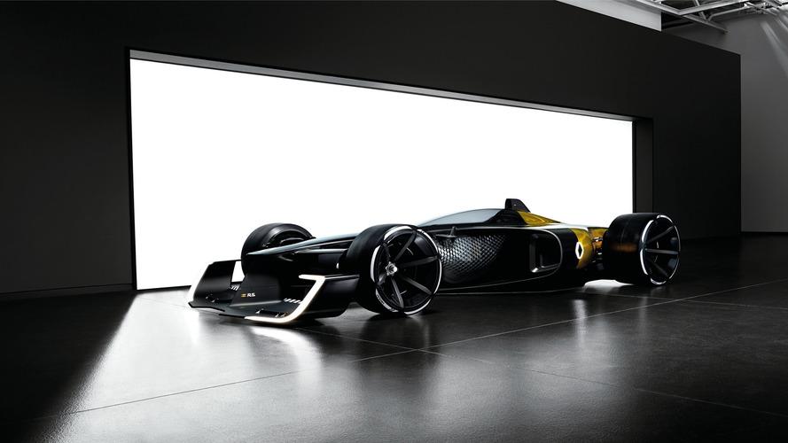 2027 Renault Formula 1 Concept For Shanghai Show Is An EV