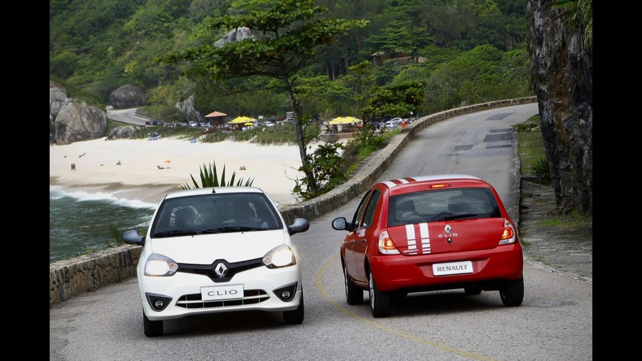 Volta Rápida: Renovado Renault Clio 2013 evolui em economia e dá mais vida ao básico