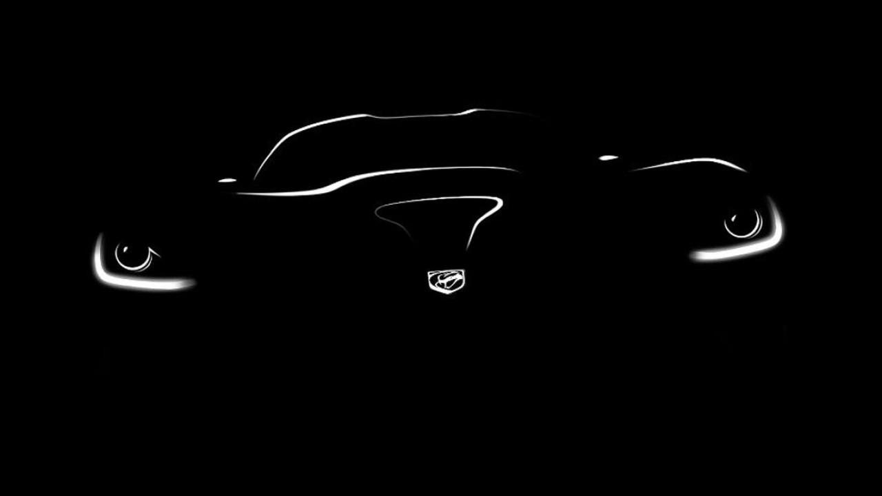 SRT divulga primeiro teaser da nova geração do esportivo Viper
