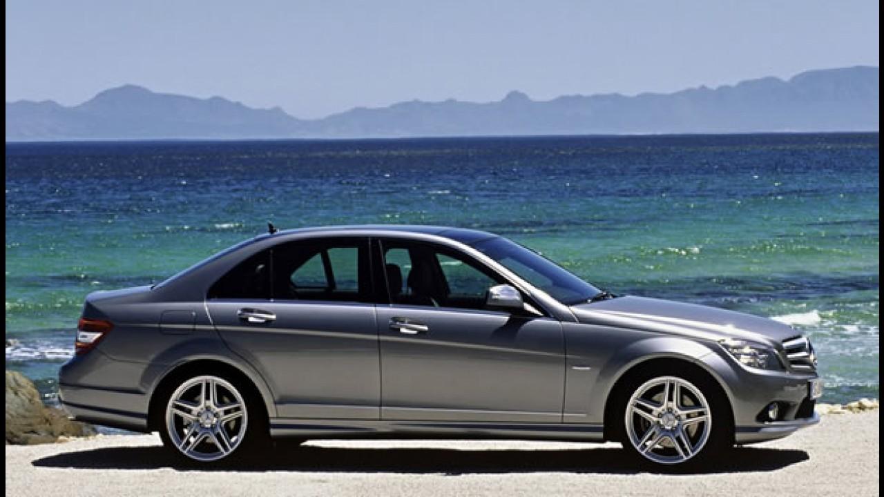 Mercedes-Benz Classe C atinge marca de 1 milhão de unidades vendidas
