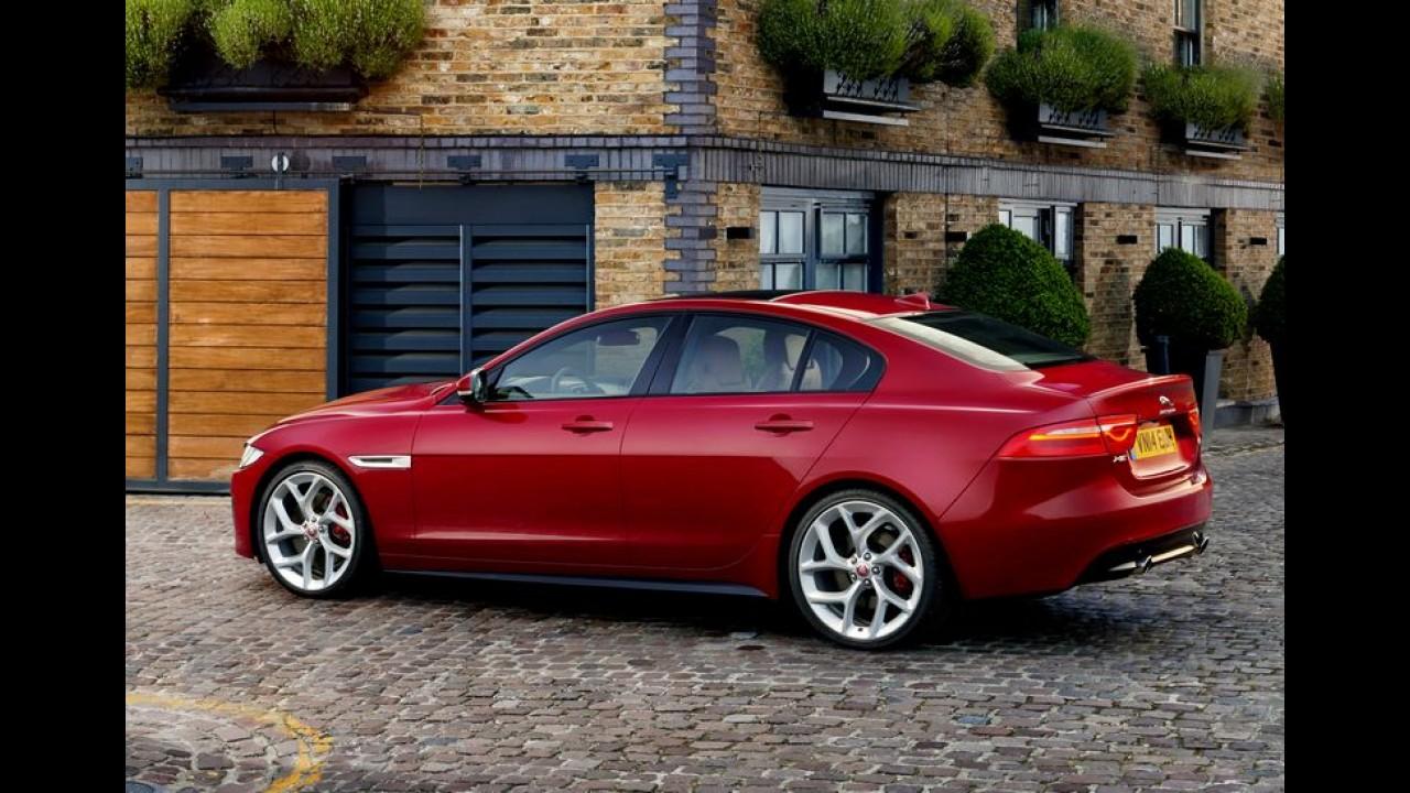 Família completa: Jaguar planeja versões cupê, perua e SUV para o novo XE