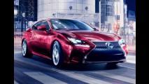 Lexus revela o novo RC Coupe derivado do belo conceito LF-CC