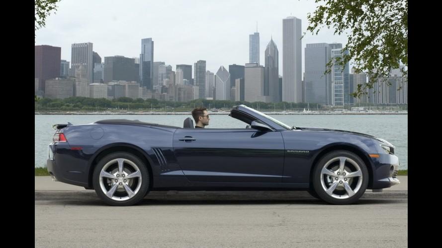 GM revela novo Camaro conversível; estreia acontece em Frankfurt