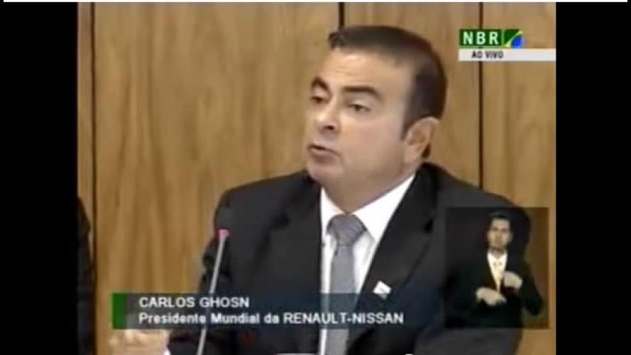 Presidente da Aliança Renault-Nissan fala sobre os preços de carros no Brasil