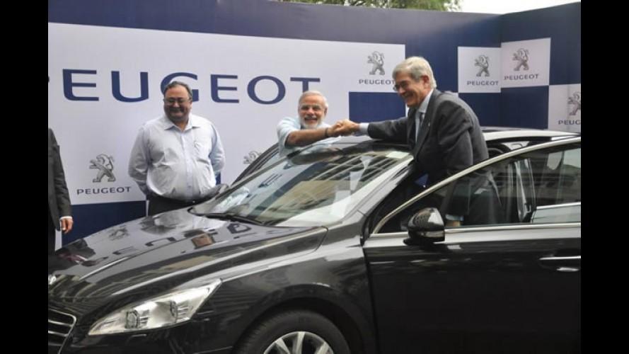 Peugeot anuncia nova fábrica na Índia com investimento de 650 milhões de euros