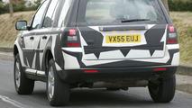 Land Rover Freelander Spy Photo