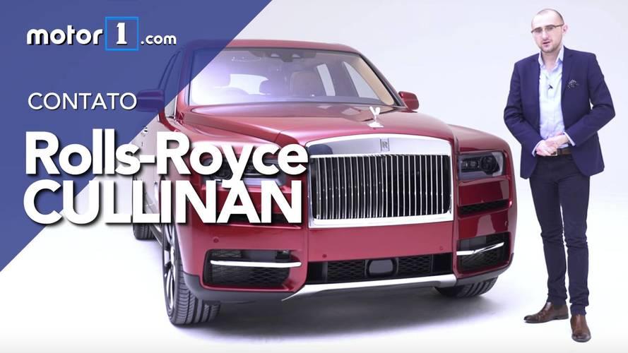 Vídeo - Nosso primeiro contato com Rolls Royce Cullinan