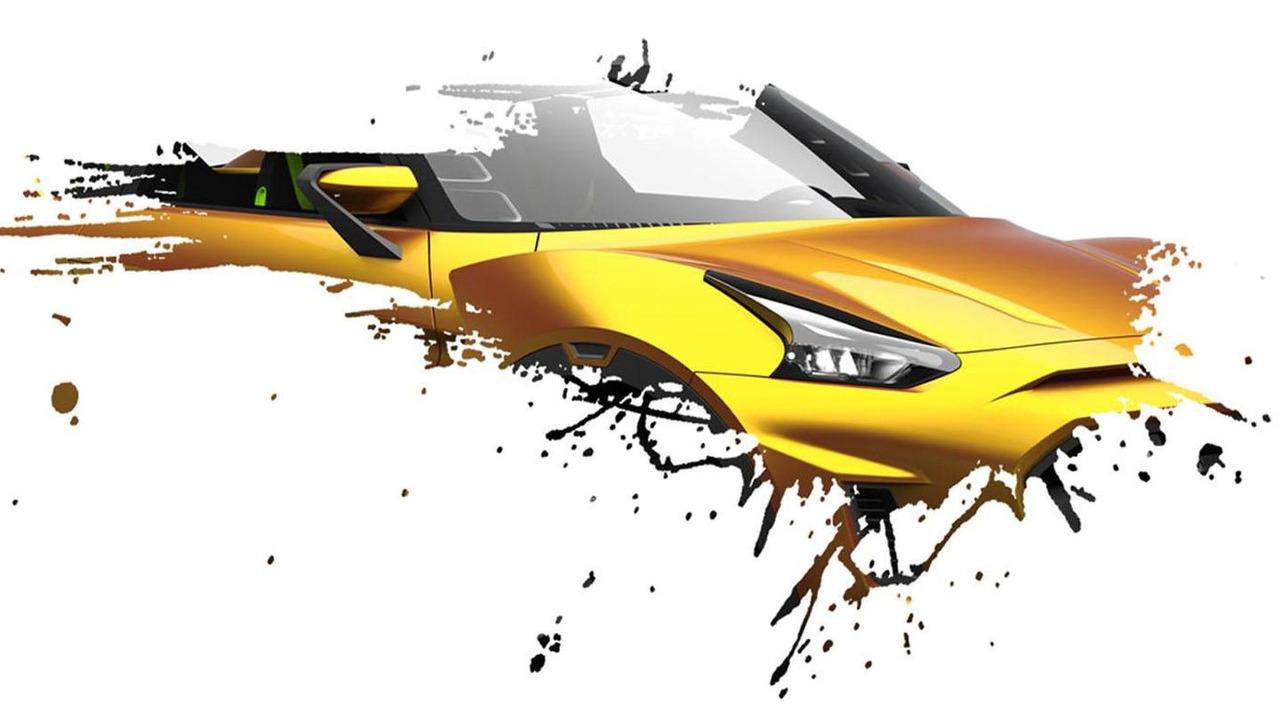 Nissan concept for Sao Paulo Motor Show 16.10.2012