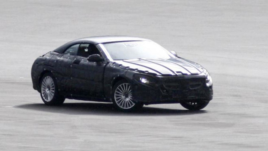 2014 Mercedes-Benz S-Class Cabriolet confirmed by these spy photos