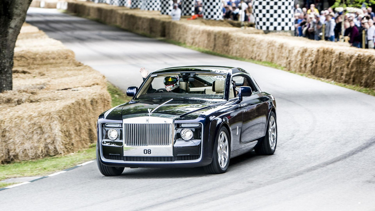 Rolls-Royce Sweptail 2017 Goodwood