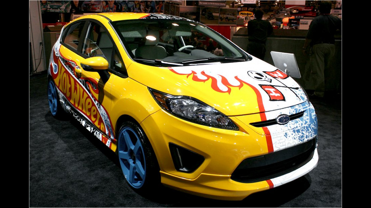 Ford Fiesta SES Team Hot Wheels