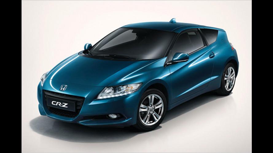 Honda CR-Z Hybrid-Sportler: Weltpremiere in Detroit