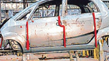 Tata Nano First Photos in Assembly Line