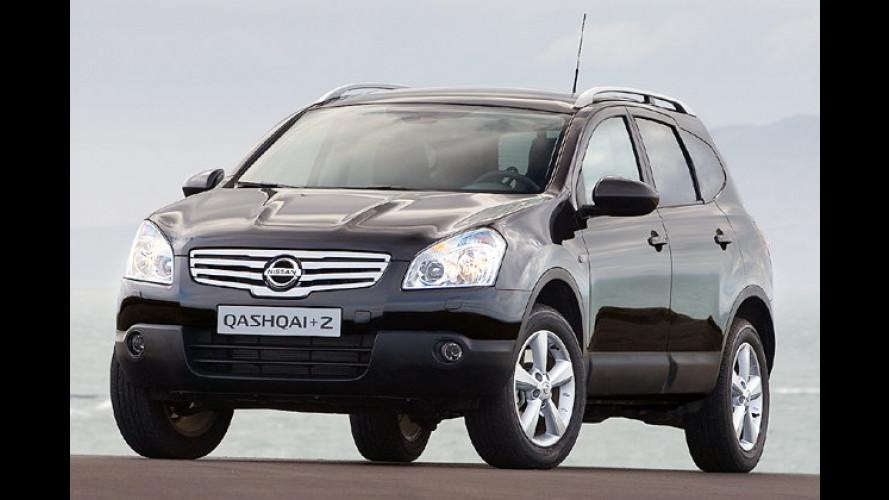 Nissan Qashqai+2: Erfolgs-SUV geht in die Verlängerung