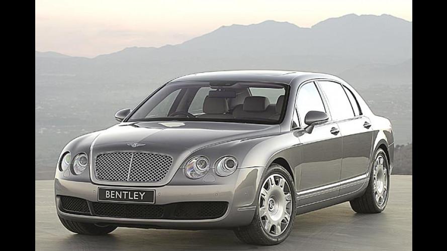 Bentley Continental Flying Spur: Viertüriger Heiß-Sporn