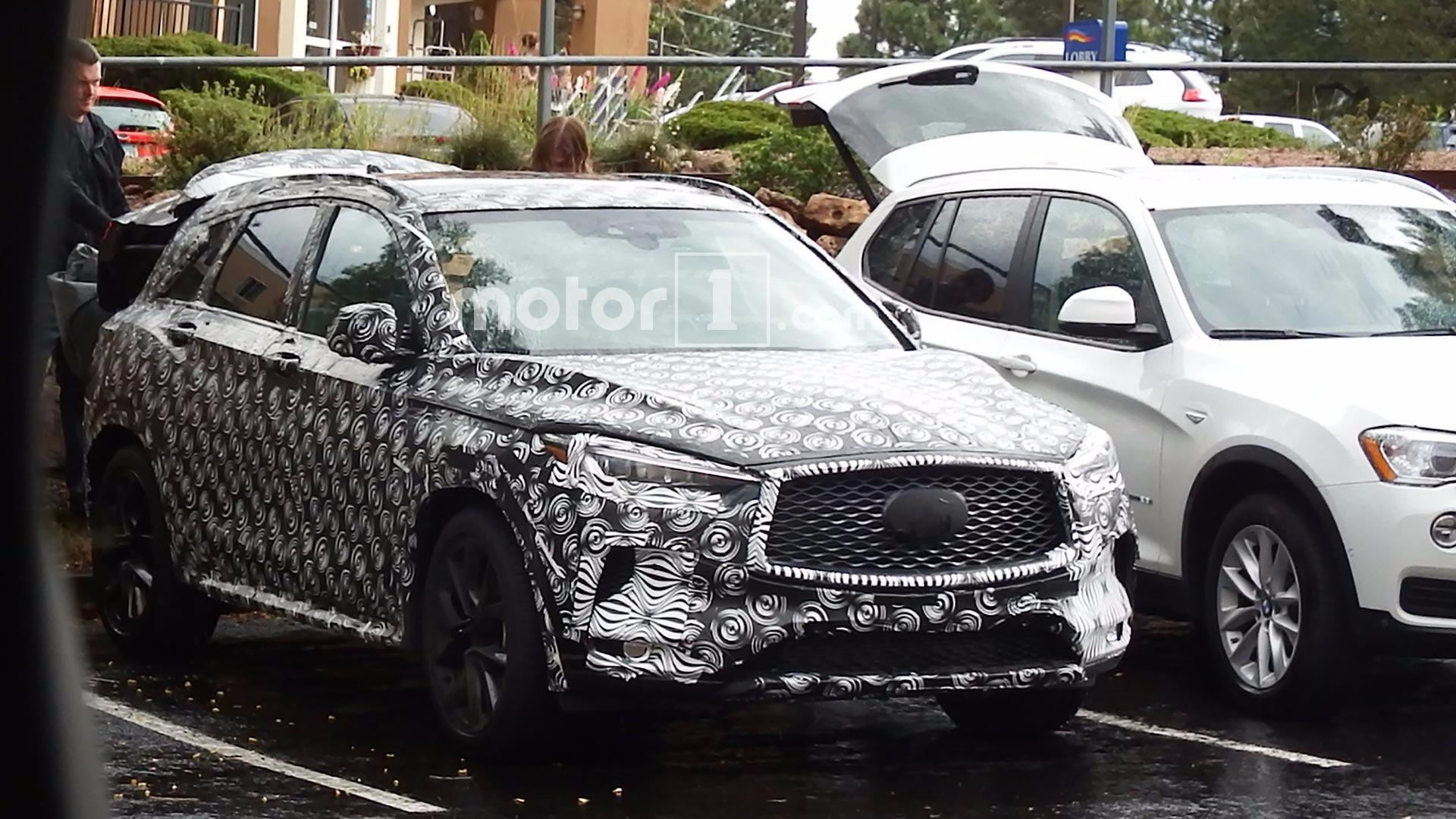 Qx50 For Sale >> 2018 Infiniti QX50 Spied With Undisguised Exterior