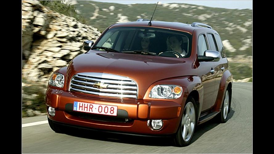 Die Legende lebt: Chevrolet bringt den Lifestyle-Van HHR
