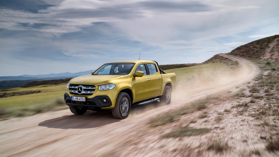 See The Mercedes X-Class Go On And Off Road In New Promo Videos