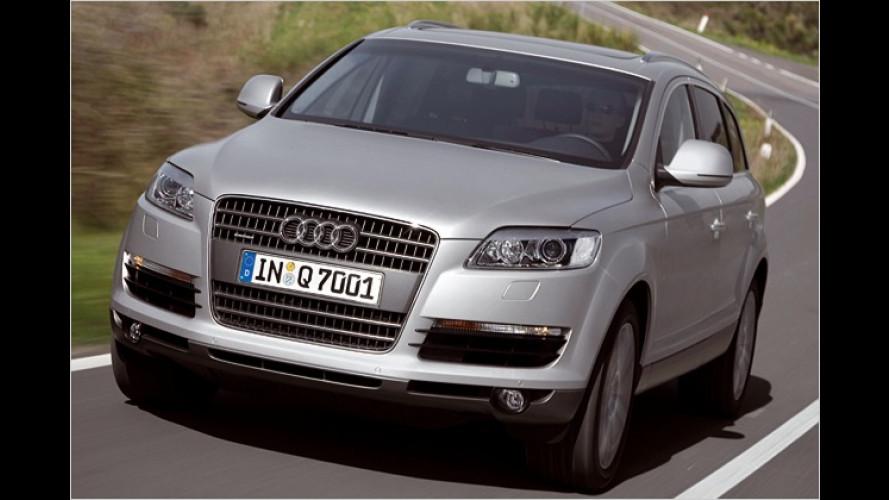 Audi Q7: Leistungsspritze für den Einsteiger-Diesel