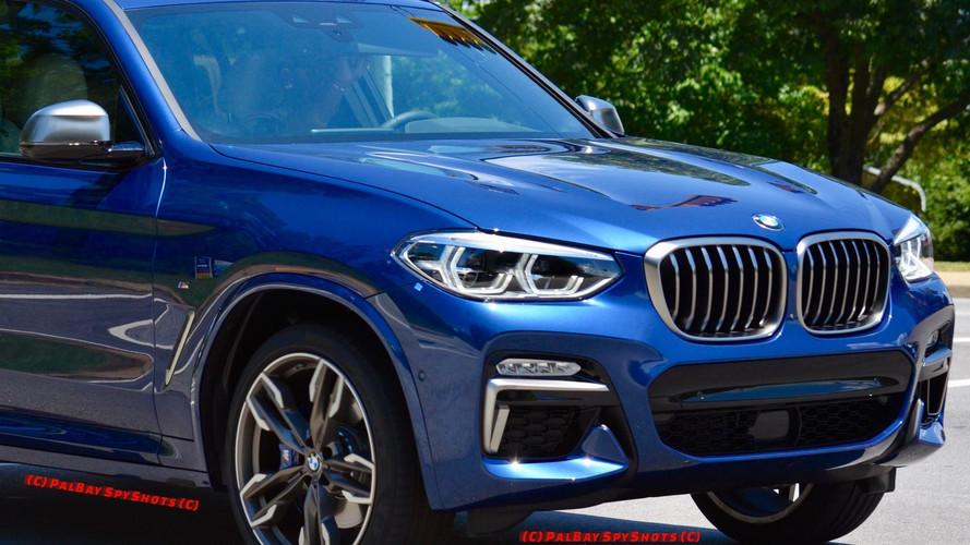 Photos espion BMW X3 M40i 2018