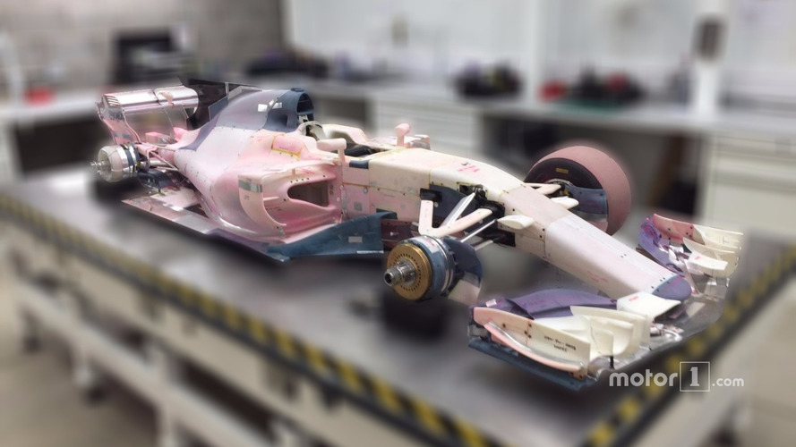 2017 Manor F1 wind tunnel model car up for auction