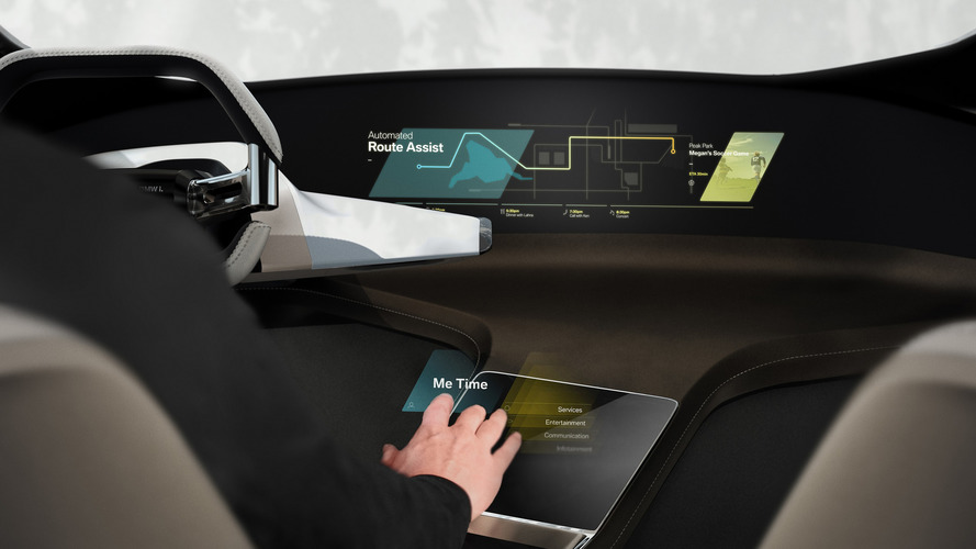 BMW teases hologram virtual touchscreen concept for CES