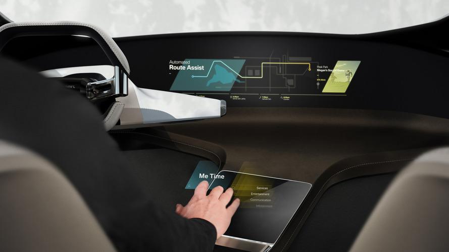 BMW, CES Fuarı için sanal dokunmatik ekran konseptini gösterdi