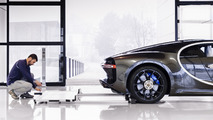 2017 Bugatti Chiron üretimi Molsheim fabrikasında başladı