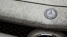 Mercedes-Benz CLS 350 covered with one million Swarovski crystals