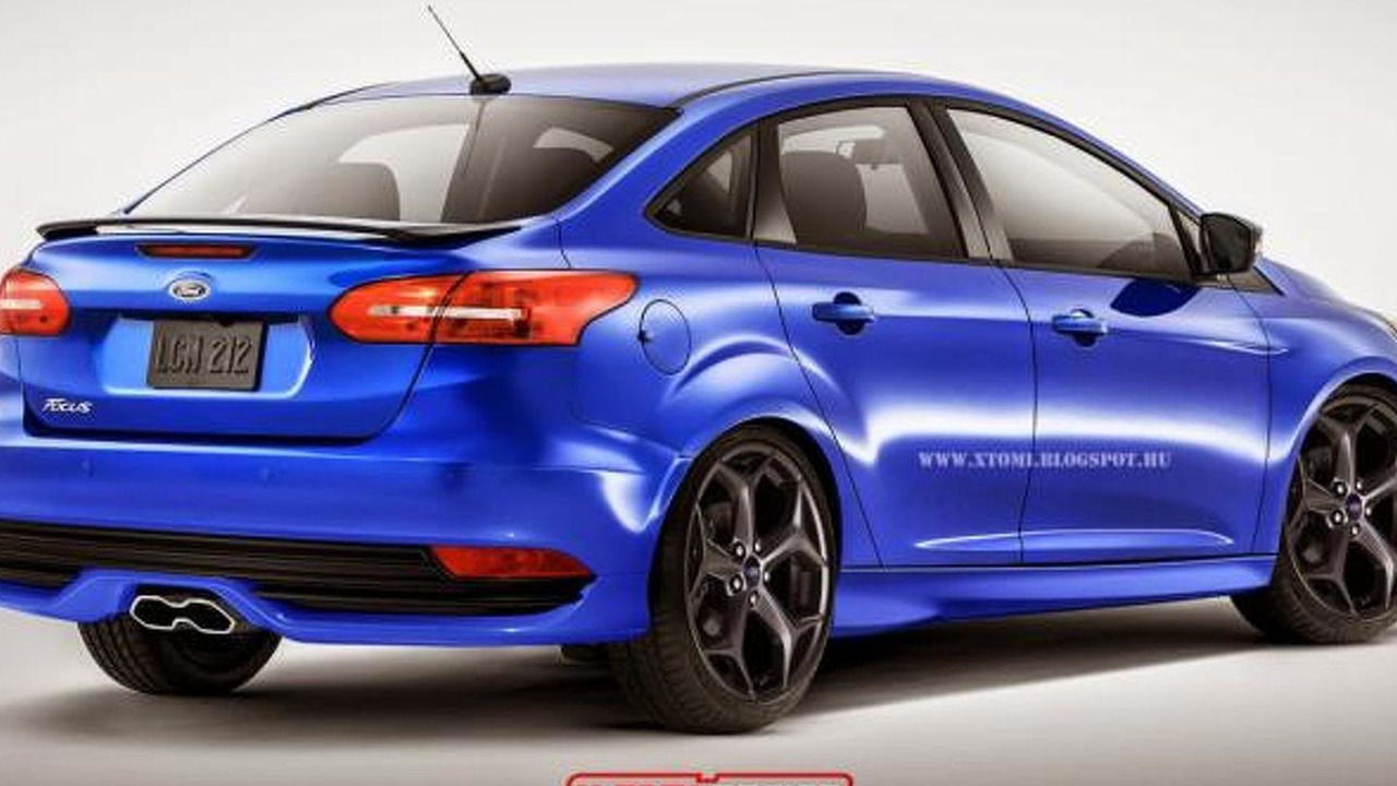 Ford Focus Sedan ST render