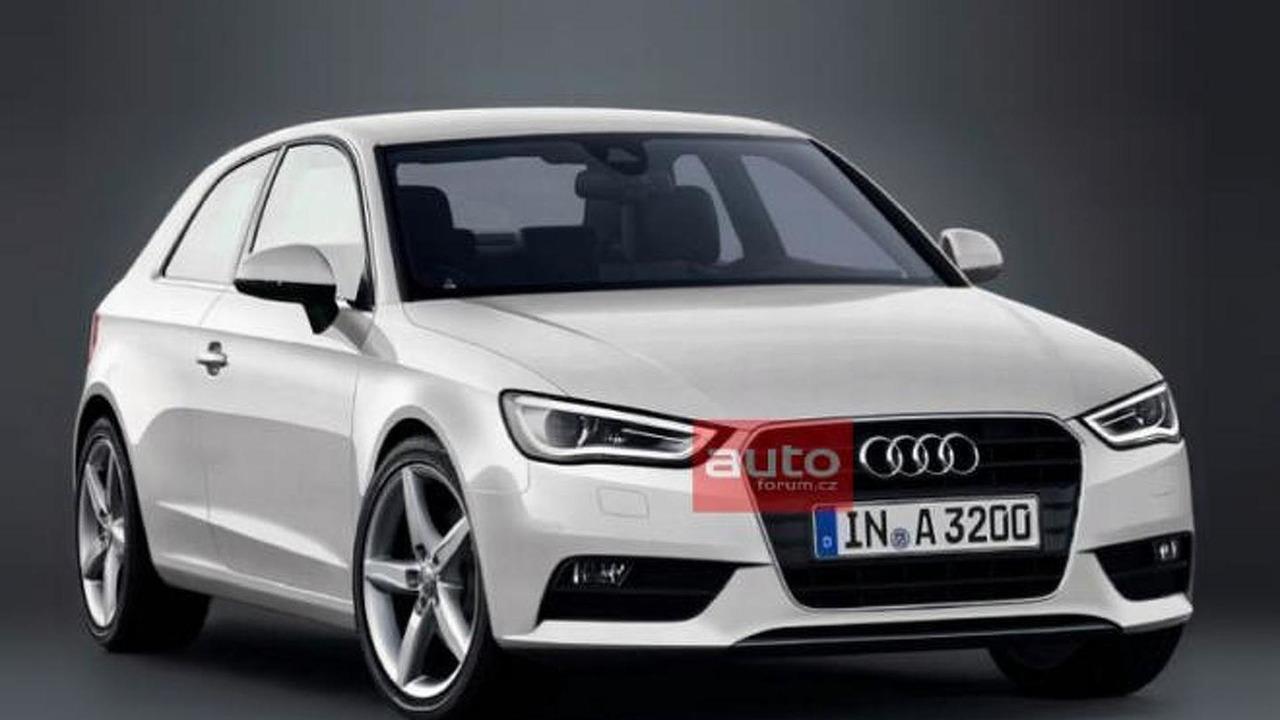 2012 Audi A3 leaked photo 15.2.2012