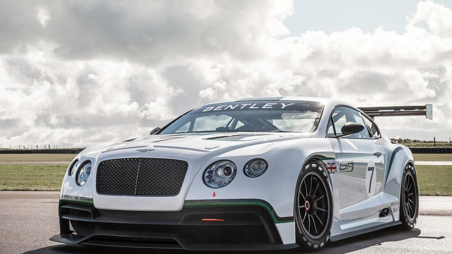 Bentley Continental GT3 race car to debut at Goodwood
