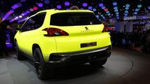 Peugeot 2008 concept at 2012 Paris Motor Show