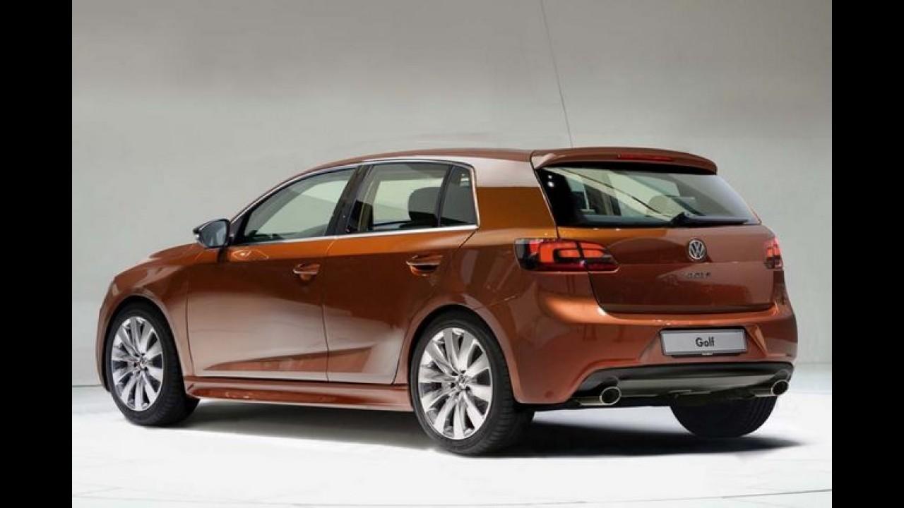 Novo Golf VII 2013: Volkswagen adianta as primeiras informações oficiais