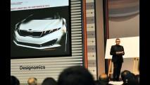 Kia K9? Esboço de novo sedan de luxo é revelado em apresentação de design