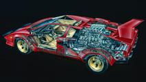 Lamborghini Countach David Kimble Cutaway