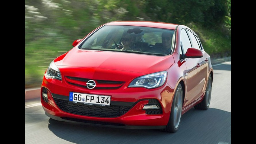 Opel Astra BiTurbo: A nova versão diesel de 195 cv tem as primeiras imagens reveladas