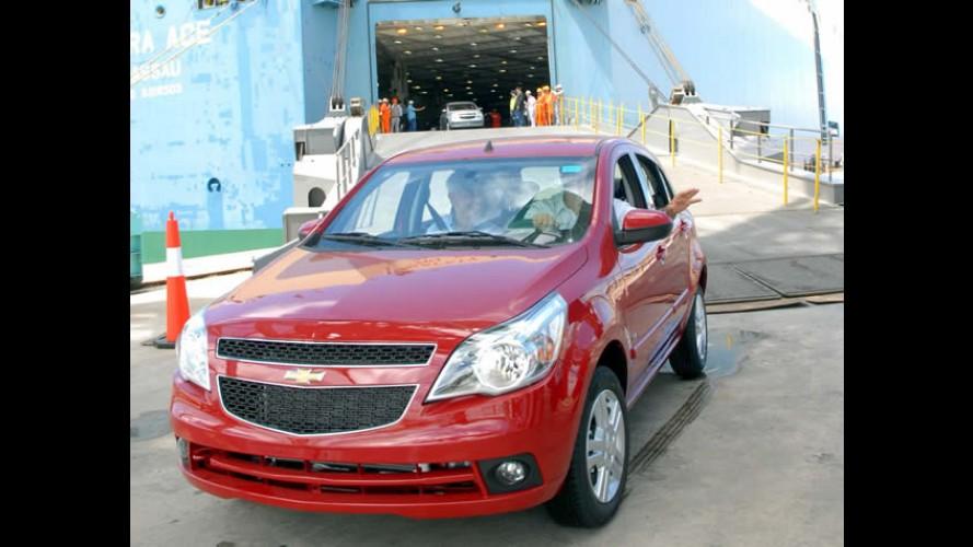 Volume de exportações de veículos cai mais de 12% em 2012