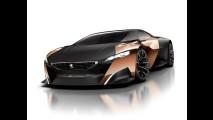 Peugeot Onyx Concept: novas imagens revelam visual completo do superesportivo híbrido