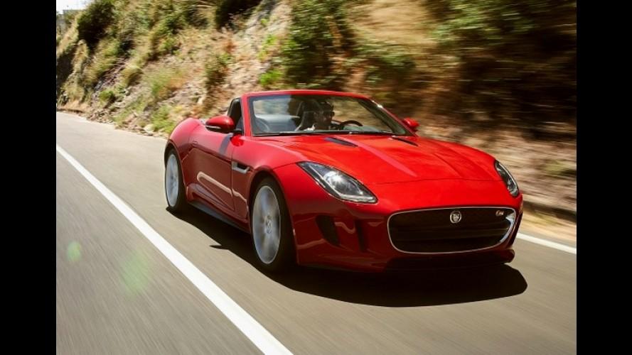 Jaguar F-Type é revelado por inteiro - Imagens do modelo vazaram na rede