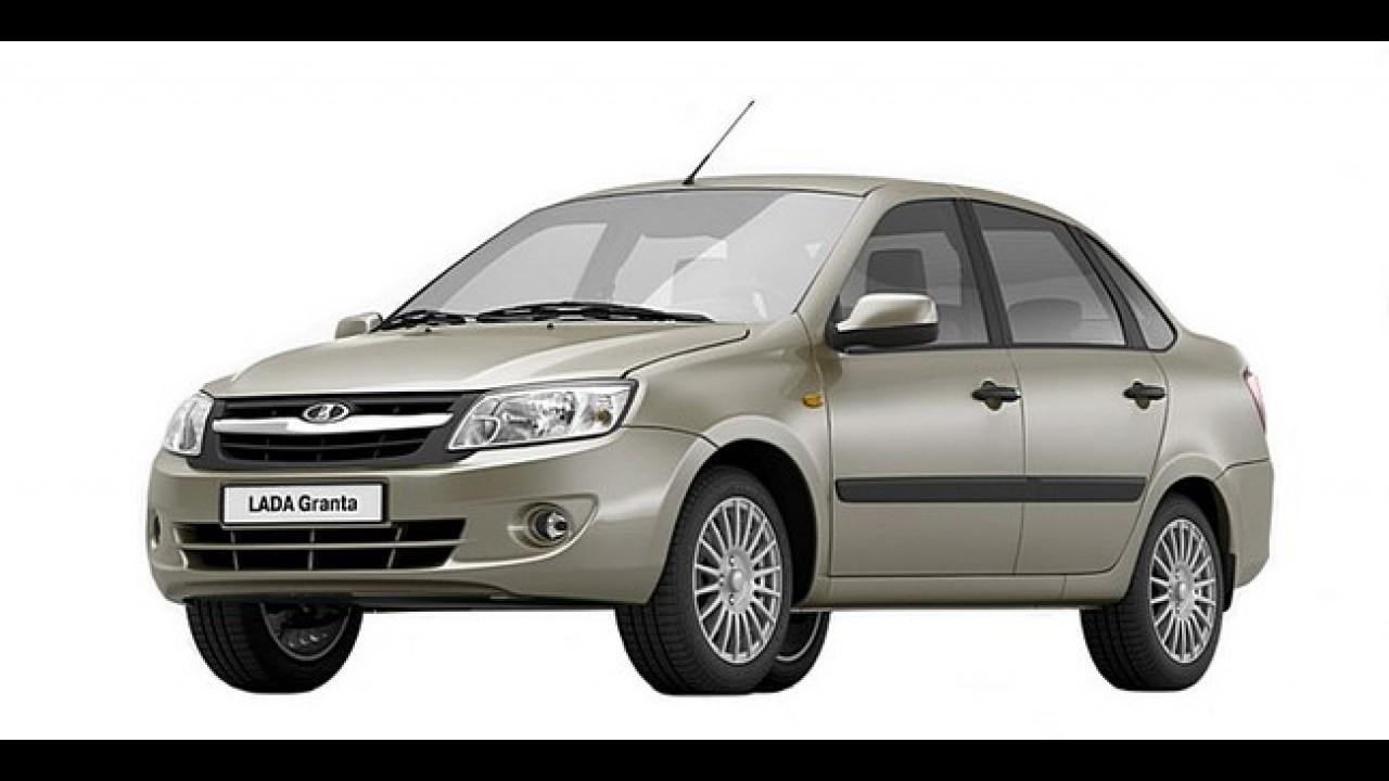 RÚSSIA: Veja a lista dos carros mais vendidos em dezembro de 2012